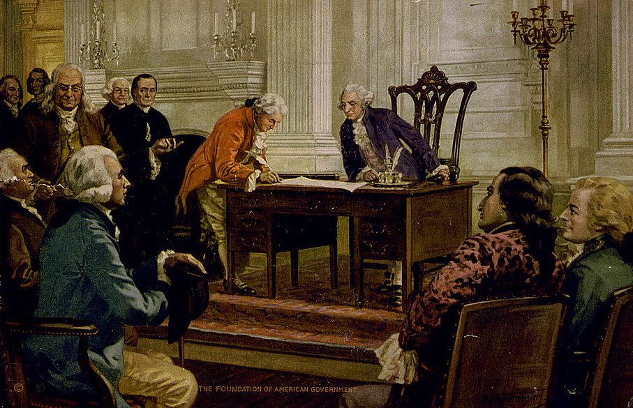 two months before Thomas Jefferson wrote the Declaration of Independence